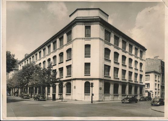 François KOLLAR  (1904-1979):  Les établissements Schneider photo photographie époque tirage argentique