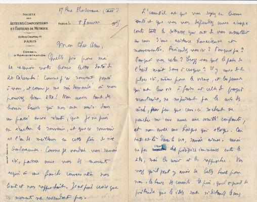 Paul Le Flem lettre autographe signée
