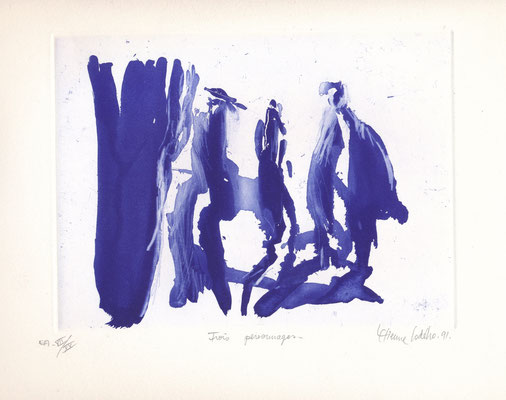 Etienne LODEHO, peintre et graveur français né en 1953