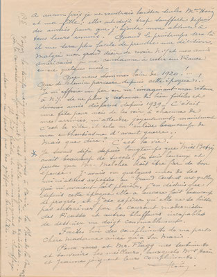 Alfred-Georges HOEN (1869-1954) peintre lettre autographe illustrée achat vente CD Galerie