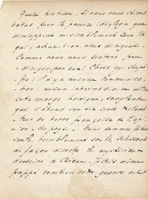 Henri Massis lettre autographe signée