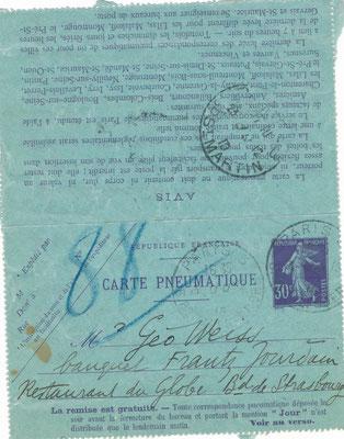 Maurice Denis lettre autographe