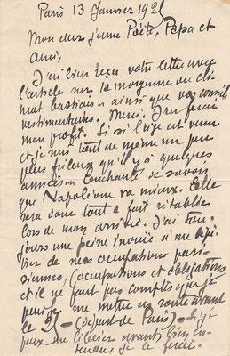 Jehan-Rictus lettre autographe signée