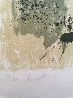 René Allio (1924-1995), peintre, lithographe