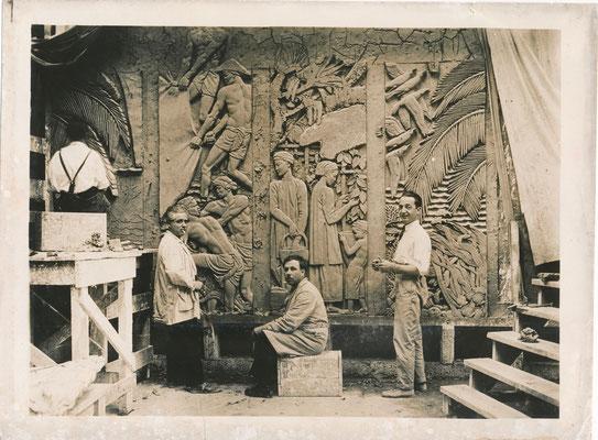 Alfred JANNIOT (1889-1969), sculpteur, photographie