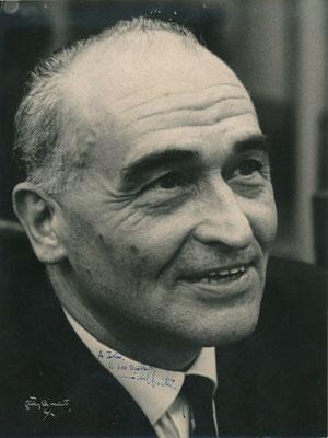 photographie dédicacée à Ivan Thermac et signée : « A Ivan, le « pas terrible » Michel Boutron