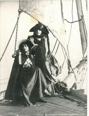 Abel Gance tournage Napoléon