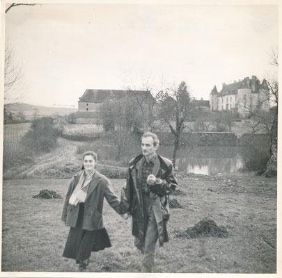 Balthus Frédérique Tison château de Chassy photo photographie tirage CD Gaerie vintage