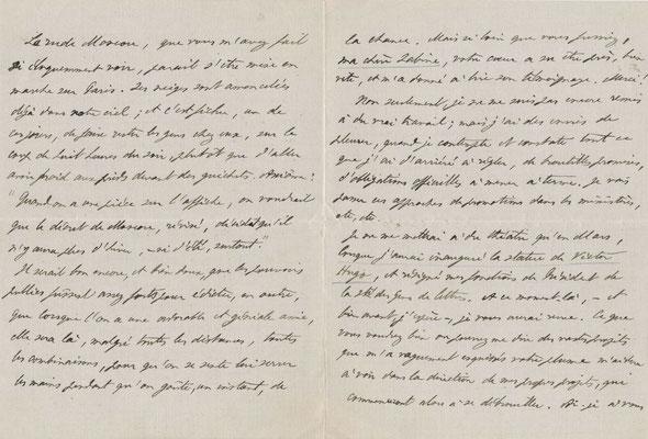 Paul Hervieu lettre autographe signée