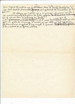 Paul Guth lettre autographe signée
