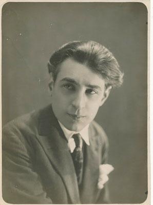 Abel Gance photographie portrait