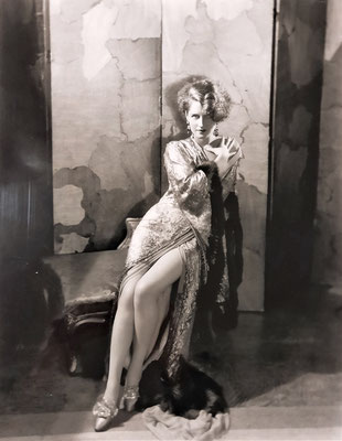 Norma Shearer par George Hurrell photographie