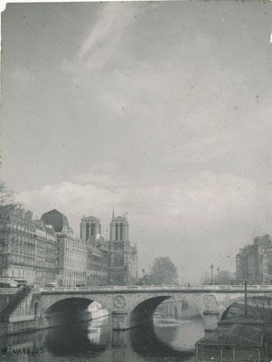 Pierre Jahan photographie Notre Dame