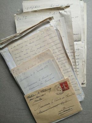 Correspondance autographe de la communauté des Clarisses d'Ypres