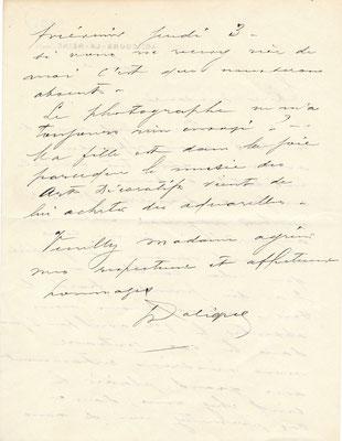 René LALIQUE maître verrier  joaillier  bijoutier lettre autographe signée CD Galerie