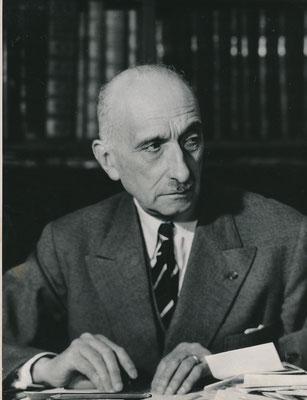 L'écrivain François Mauriac photographie