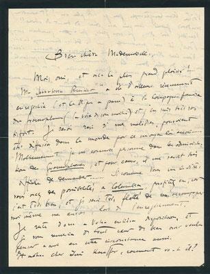 Vincenzo Davico 2 lettres autographes signées