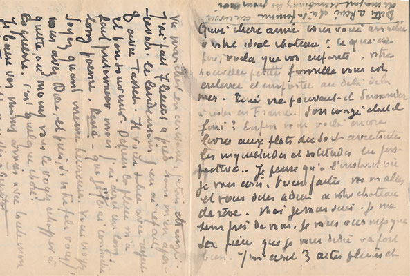 Emile Bernard lettre autographe signée
