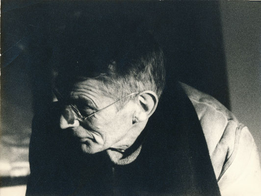Samuel Beckett photographie portrait