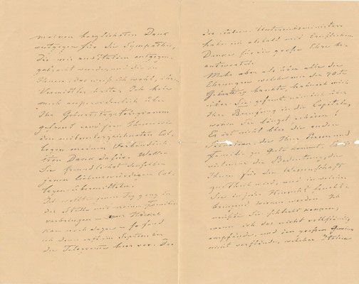Karl Gegenbaur lettre autographe signée