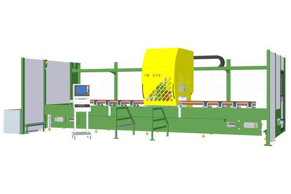 RMC SL 5-6.7 lavorazione collettore in rame