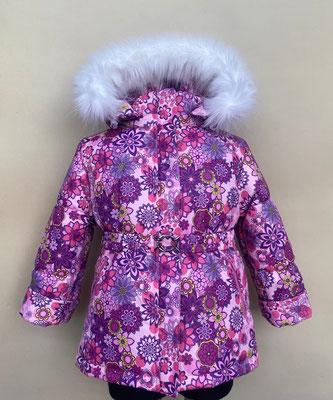 куртка зимняя. размеры:28/98-104.  ткань арт.1248 мембрана.