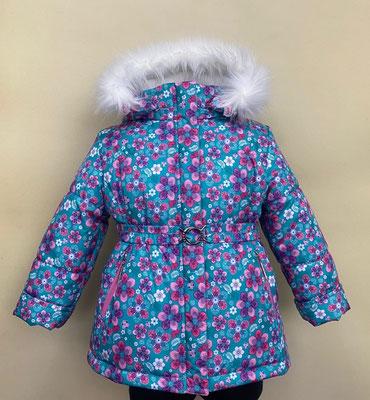 куртка зимняя. размеры: 28/98-104,30/110-116. ткань арт.1242. Dewspo