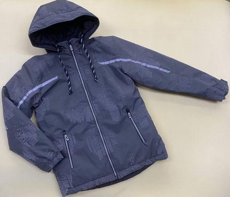Куртка демисезонная мод.371 размер 36/146-152,38/152-158.Ткань арт.1257. Мембрана (светоотражающая)