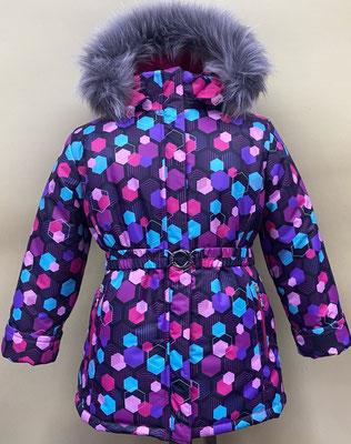 куртка зимняя. размеры: 32/122-128. ткань арт.1260. Мембрана.