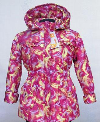 Пальто демисезонное  мод354 разм. 24/74-80;28/98-104. ткань арт.1156