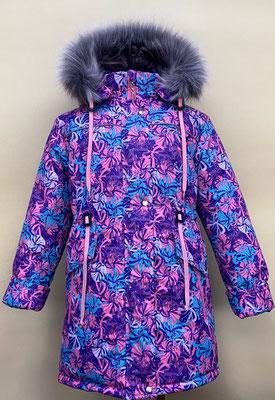 Пальто зимнее. размеры: 32/122-128. Ткань мембрана арт.1190