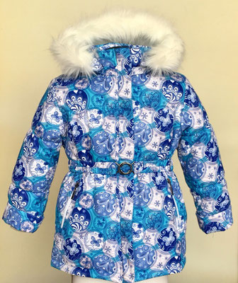 куртка зимняя. размеры:28/98-104.  ткань арт.1224 мембрана.