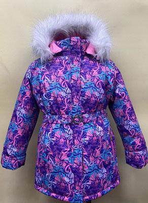 куртка зимняя. размеры: 32/122-128. ткань арт.1190. Мембрана.
