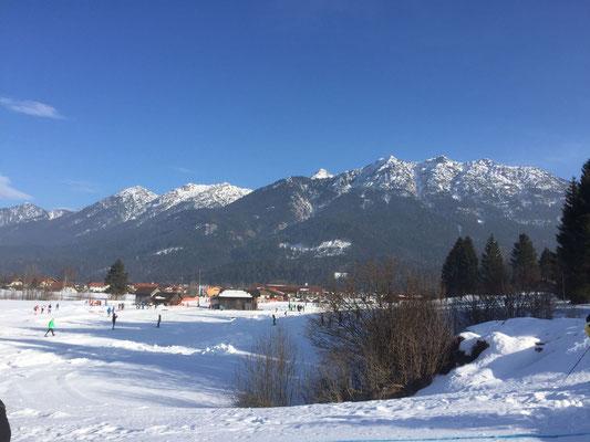 Super Wetter im Karwendel