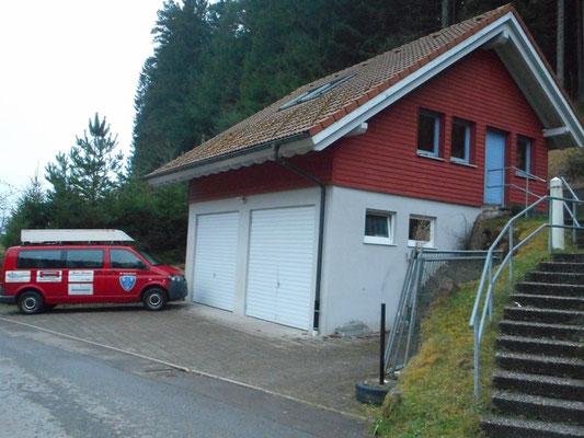 Garagen und Trainingsraum