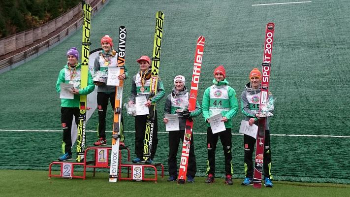 Deutscher Meister im Skispringen DAVID SIEGEL