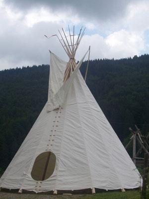 Décor Tipi - Tente Western