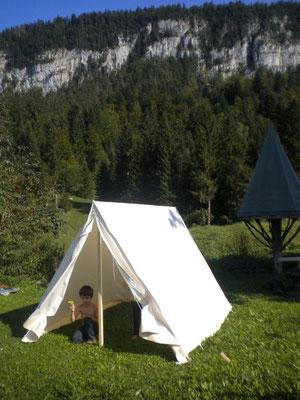 Décor Tente Cavalerie - Tente Western