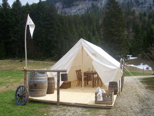 Décor Tente Prospecteur - Tentes Western