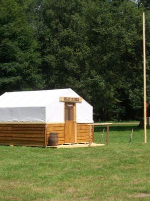 Décor Tente Relais du Nord - Tente Western