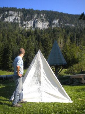 Décor Tente Cavalerie - Tente Western - Location de décors