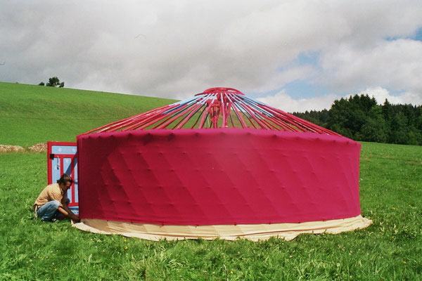 Yourte - Tentes nomades