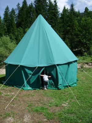 Décor Tente Merlin - Tentes - Les Chemins de Traverse