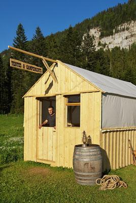 Décor Tente Post Office - Tentes Western - Les Chemins de Traverse