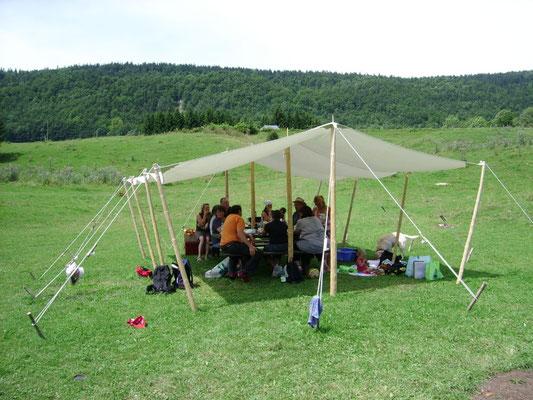 Décor Auvent - Tentes Western - Les Chemins de Traverse