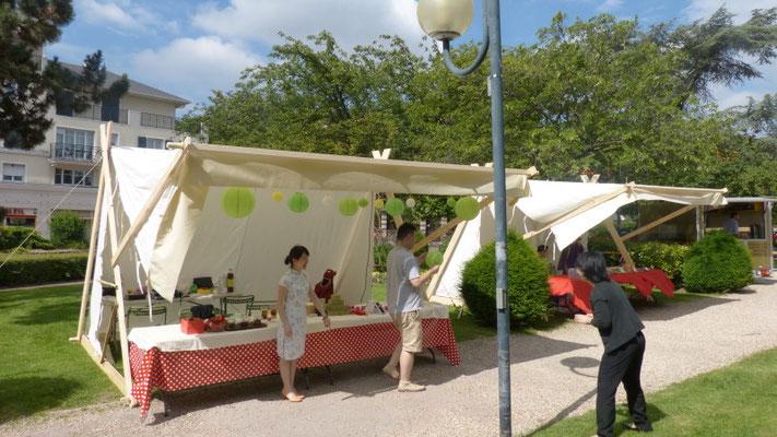 Décor Tente du Nord - Tentes nomades - Les Chemins de Traverse