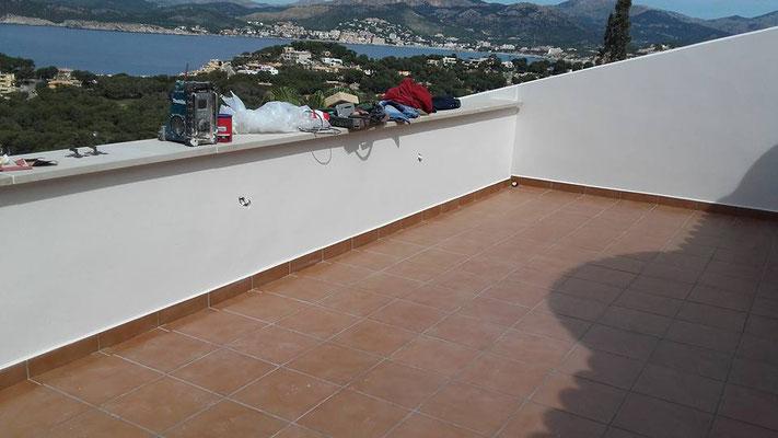Dachterrasse Neu Mallorca