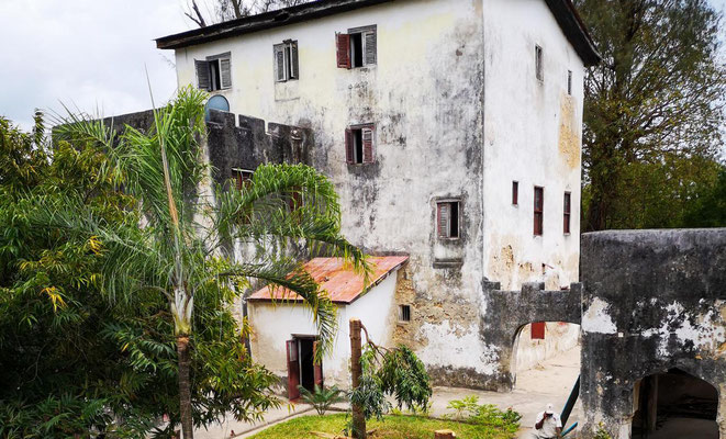 Altes Fort in Bagamoyo