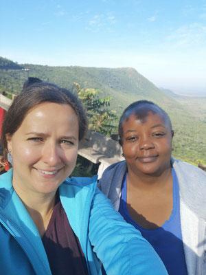 Mit Josephine von unserer lokalen Agentur