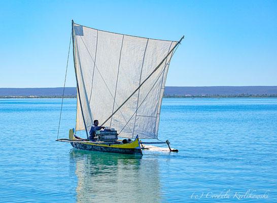 Fischerboot auf unserer Madagaskar Reise